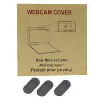 3PCS/LOT Webcam cover for computers laptops tablets protect