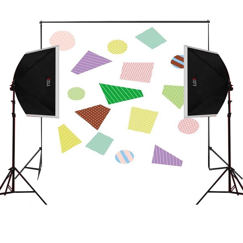 Blue color baseball scenic for kids photos camera fotografica studio vinyl photography background backdrop cloth digital props