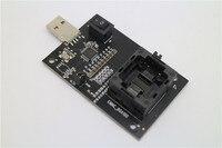 USB ligne interface BGA 100 IC siège d'essai sous la pression de des éclats mem circuit intégré tests sièges Données lignes