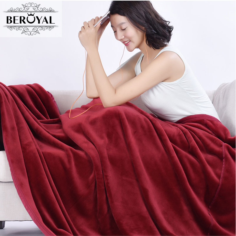 Sanky Home 2017 New Arrival Brand Blanket 1pc Coral Warm Blankets Fleece Soft Throw Blanket Solid Blanket On Bed 150x200cm Thick zhh warm soft fleece strip blankets double layer thick plush throw on sofa bed plane plaids solid bedspreads home textile 1pc