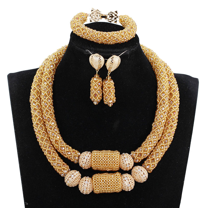 Fashion Wine Burgundy Women African Nigerian Wedding Jewelry Sets Wine Seed Bead Pendant Statement Necklace Set Fashion Wine Burgundy Women African Nigerian Wedding Jewelry Sets Wine Seed Bead Pendant Statement Necklace Set Bride 2018 WE134