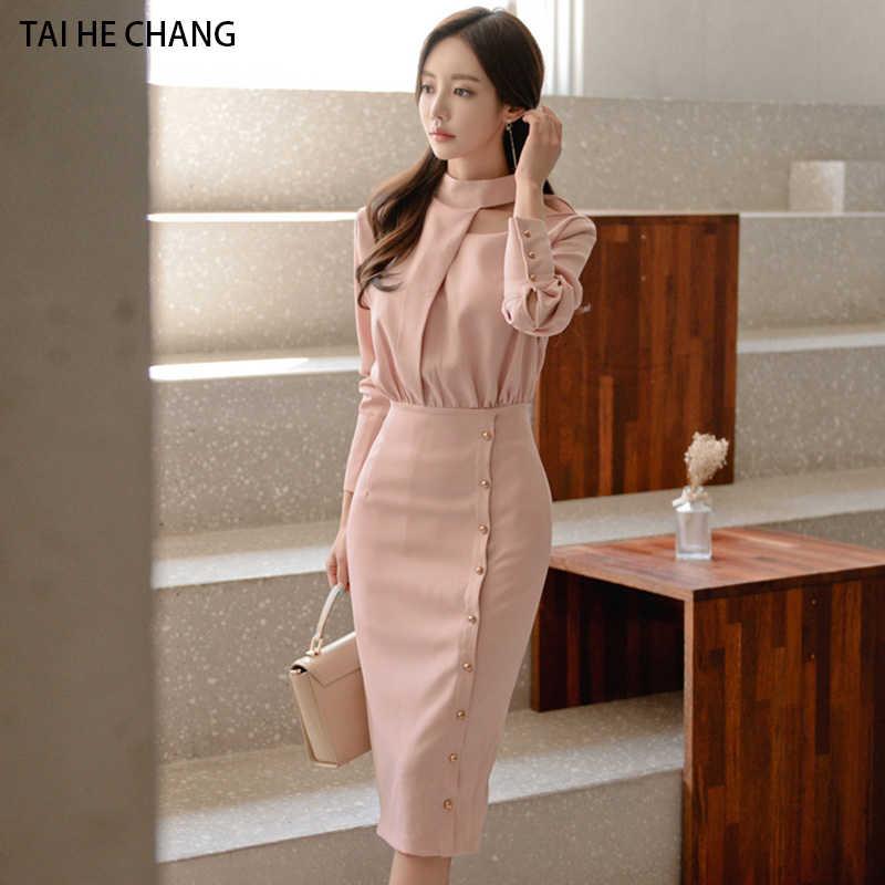 women dress new fashion korean casual