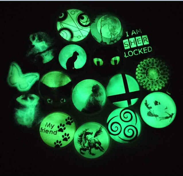 Glühender Anhänger Van Gogh Vincent Malerei Halskette Kunst Malerei Anhänger Van Gogh Schmuck Glow in The Dark