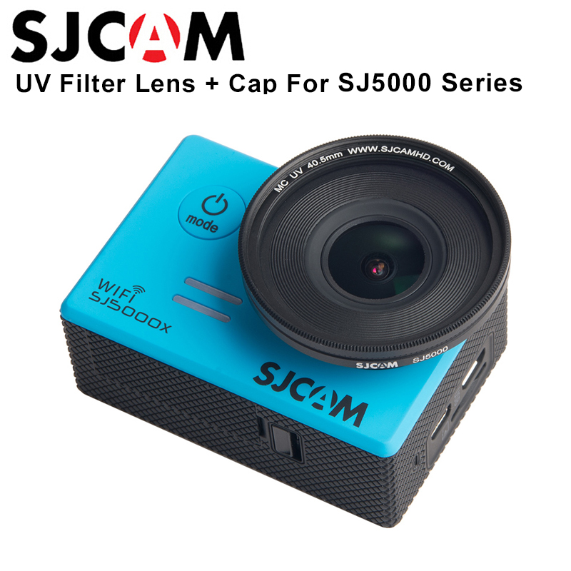 SJCAM Accessories SJ5000 Series UV Filter 40.5mm Multi-Coated Protector Lens For SJ5000 SJ5000WIFI SJ5000X Elite Action Camera