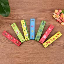 1 шт цвет случайным образом 13*2,2*2,2 см Обучающие, музыкальные деревянные Губная гармошка игрушка для детей подарок для детей
