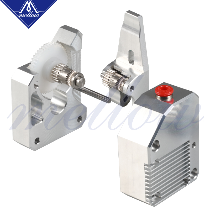 Mellow haute qualité double engrenage tout métal Bmg extrudeuse Bowden double entraînement extrudeuse pour imprimante 3d Mk8 Cr-10 Prusa I3 Mk3 Ender 3 - 4