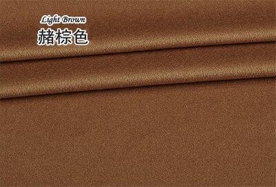 2019 Europe haut de gamme marque manteau laine soie tissu bricolage laine mérinos cachemire tissus lisse brillant Anti statique élastique or tissus - 4
