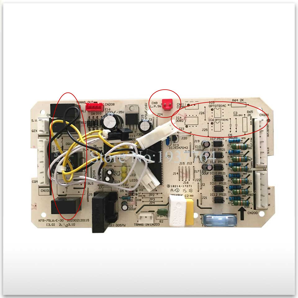new for Air conditioning computer board circuit board KFR-120W/S-520T2 KFR-75LW/E-30 PC board good working 90% new used for air conditioning computer board circuit board kfr 25wx bp1 kfr 25gw bpx2 0600169 good working