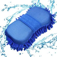 New Car Wash Gloves Cleaning Sponge Car Window Cleaning Ultrafine Fiber Chenille Anthozoan Washer Sponge Brush