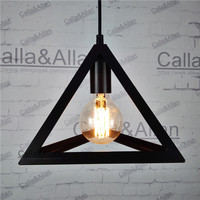 Retro Vintage Industrial Pendant Lamp Covers Pendant Trouble Light Bulb Guard Wire Cage Ceiling Fitting Hanging