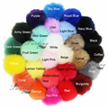 DIY Wholesale 400PCS/Lot Faux Fur Pom Poms Colourful Imitatation Balls Accessories Man-mand Plush Toy