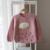 2017 nuevos suéter de los niños niñas de dibujos animados nubes de lluvia suéter de punto para niños suéter del bebé
