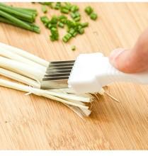 Cebolla cortador de cebolla creativa cuchillo ralladores vegetales herramientas de cocina accesorios de cocina gadgets hogar