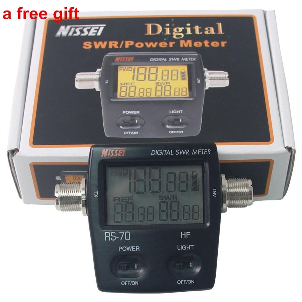 Digital Swr Power Meter : Best nissel rs digital swr power meter mhz