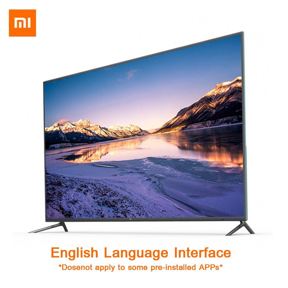 Xiaomi Smart TV 4 75 Inch Wireless Ultra-thin Body Intelligent Remote Control 4K HDR 2GB+32GB Dolby+DTS gpd xd 5 inch android4 4 gamepad 2gb 32gb rk3288