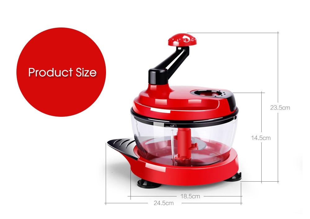 Multi manual processador de alimentos máquina corte