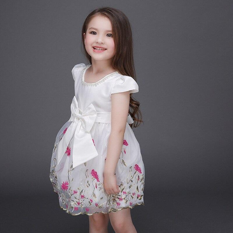 2017 Summer Children Girls Dresses Lovely Baby Girls Ball ...
