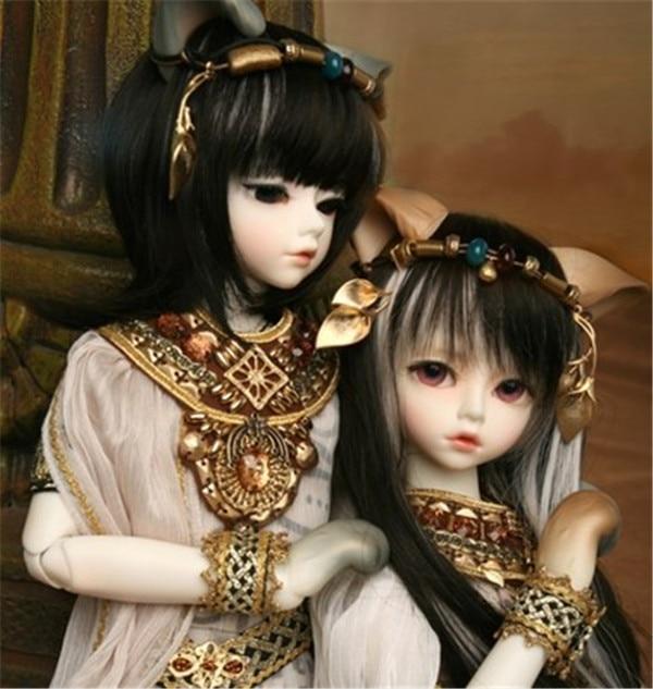 1 4BJD doll Kivi cat girl free to send eyes can choose eye color