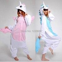 Nowy Kawaii Anime Kapturem Piżamy Cosplay Dorosłych Zwierząt Onesie Halloween Boże Narodzenie Kostium Jednorożec Jednorożca Piżamy Onesie