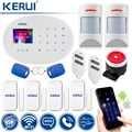 WiFi GSM охранная сигнализация беспроводная домашняя охранная сигнализация совместимая с анти-домашним детектором движения
