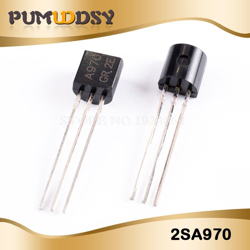 50pairs 2SA970 /& 2SC2240 A970// C2240 2SA970-GR// 2SC2240-GR Transistor