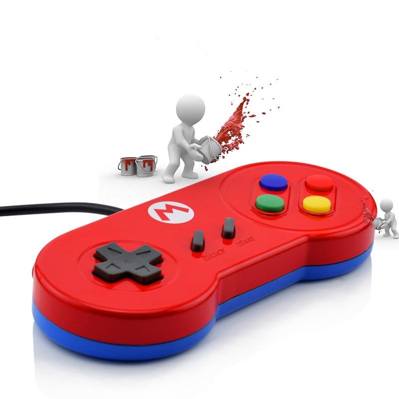 USB Controller Glossy Shell Gaming Joystick Gamepads For Windows PC/ MAC/Laptop