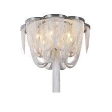 Inbegrepen Led Lamp E14 Base Fashional Moderne Hanglamp Aluminium Kettingen Hanger Lampen Voor Eetkamer/Hotel/Slaapkamer