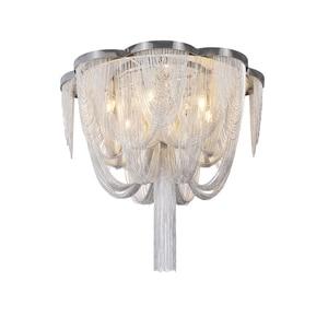 Image 1 - Included LED Bulb E14 Base Fashional Modern Pendant Light Aluminum Chains Pendant Lamps For Dining Room/Hotel/Bedroom