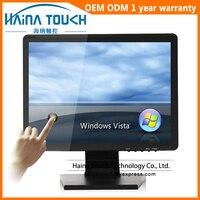 4:3 17 pouce Écran Tactile Moniteur, 17 LCD Écran D'ordinateur avec USB Écran Tactile Panneau pour Équipement de Restaurant/Pos Système