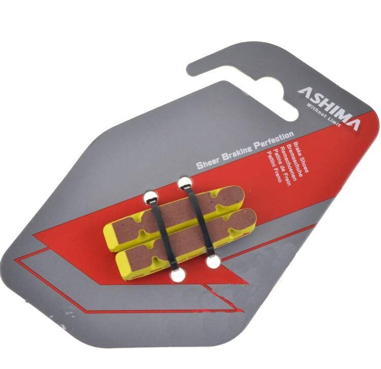 CSC Ashima road bike brake pads shoes for carbon rim Shimano Dura-Ace 4pcs