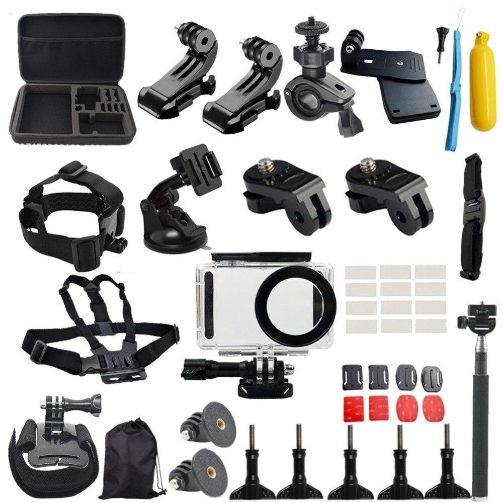 Ensemble d'accessoires pour caméra étanche pour Xiaomi Mijia 4 K Mini caméra Multi-in-1 pour plongée/ski/course/escalade/équitation