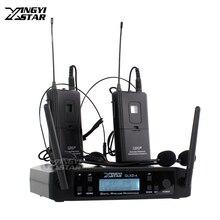 GLXD24 GLXD4 Профессиональный UHF беспроводной микрофон Система гарнитура микрофон беспроводной приемник для караоке домашняя сценическая церковь