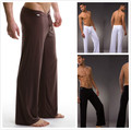 2016 черный / серый / черный / белый мужчины сексуальные шелковистые салон свободно - установка багги спортивные штаны йоги Pyjama мужчины пижамы пижамы брюки