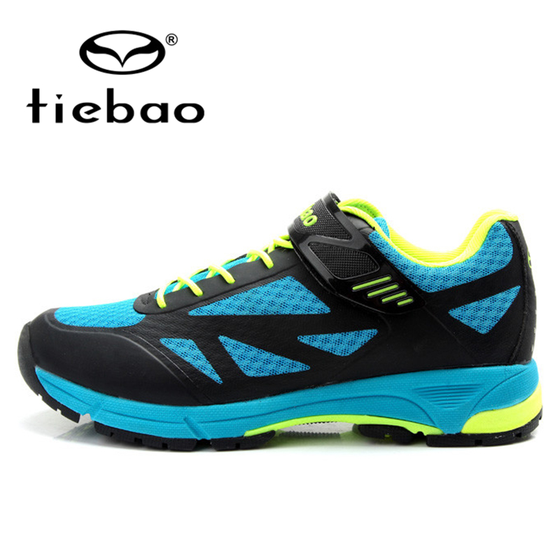 TIEBAO MTB Mountain Road Bike Shoes Breathable Bicycle Cycling Athletic Shoes Men Women Rubber Soles Self-Locking Shoes wheel up new photochromic cycling glasses polarized sunglasses men women sports mtb mountain road bike bicycle cycling eyewear