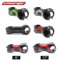 ULLICYC ультра легкий UD полный углерод 6/17 градусов детали для велосипеда/Велосипедный вынос руль MTB части 31,8*70-120 мм