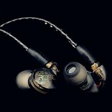 Rose Tech Aurora Macromolecule Dynamic HiFi Audiophile In-ear Earphone IEMs With MMCX Interface 5N OFC Cable