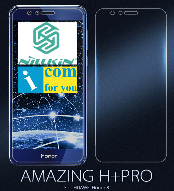 Nillkin Amazing H+ Pro Front Tempered Glass Back Protective Film For Huawei Honor 8 0.2mm 2.5D