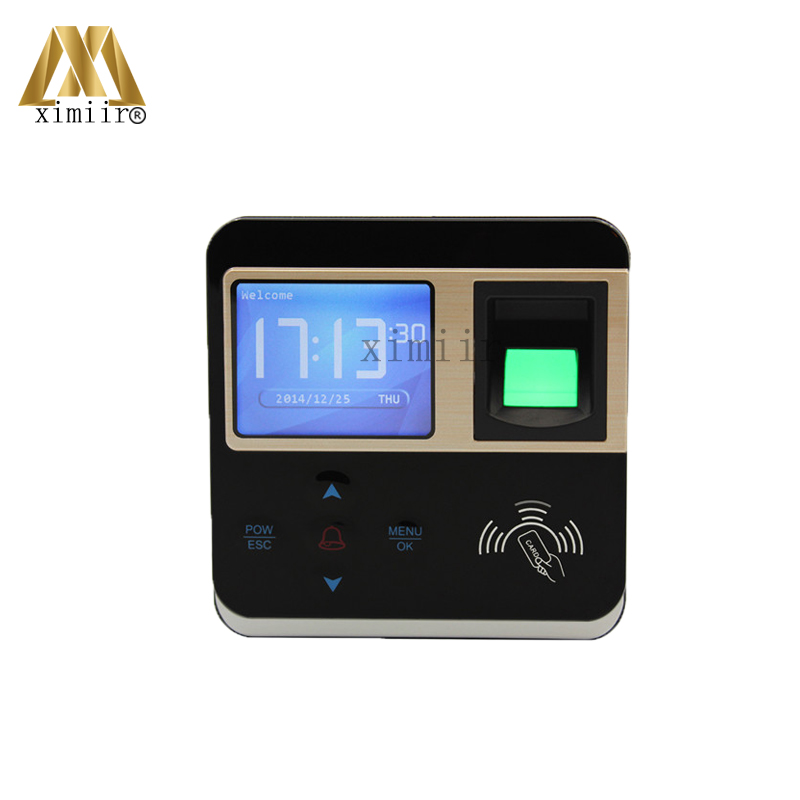 F211 Fingerprint Access Control System Door Access Control Access Controller And Time Attendance With 125KHZ RFID Card Reader