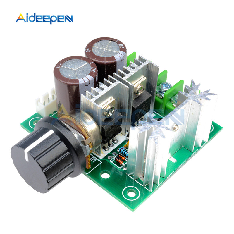 <font><b>DC</b></font> <font><b>12</b></font>-40V 10A PWM <font><b>DC</b></font> Motor Speed Control Switch Controller Regulator Governor Speed Controller 24V <font><b>30V</b></font> 13KHZ image