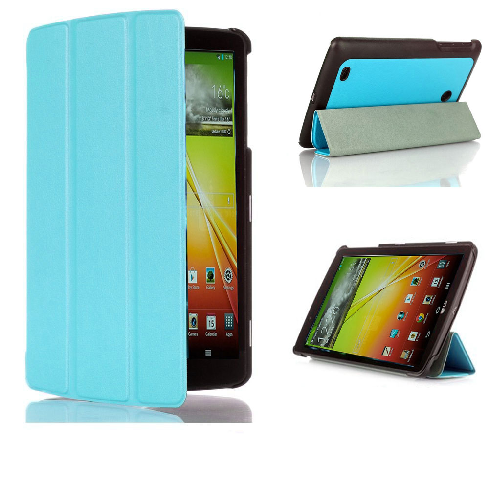 For LG G Pad V400 / V410 (LTE) / VK410 / UK410 / LK430 Smart Shell Case cover - Ultra Slim Magnet Stand Cover LG G Pad 7.0 Case lg 49lh570v smart