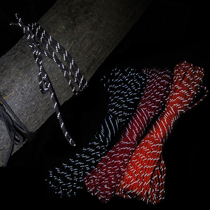 31Meters Safety Lifeline Reflective 9-cell Cord Rope Outdoor Rescue Bundle Night Warning Rope Self defense Life Saving Supplies цена