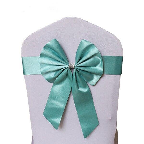 Noeud de Chaise Mariage Sashes узел бант на свадебный стул галстук украшение Stuhl Schleifen Hochzeit ssarfa Fajin Stoel Sjerp - Цвет: 003