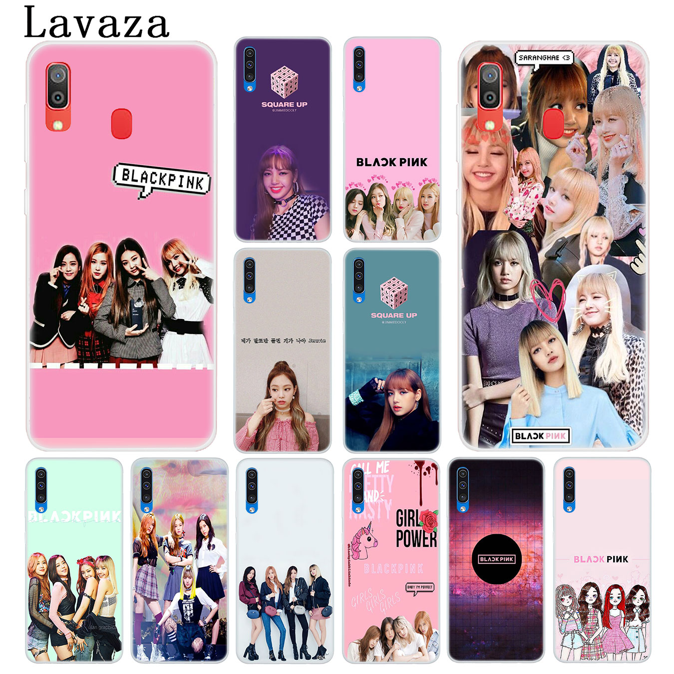 Lavaza Kpop Blackpink Black Pink Music Hard Transparent Phone Case For Samsung Galaxy M30 M20 M10 A10 A30 A40 A50 A70 Cover To Win A High Admiration And Is Widely Trusted At Home And Abroad. Half-wrapped Case