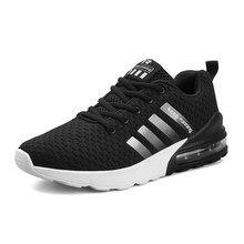 f67a87064 Onke мужской кроссовки черный амортизации держать Running Мужская Обувь На  Шнуровке Спорт тапки обувь легкая спортивная