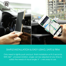 Baseus Stable Series Car Mount For 3.5 to 5.5 inch Smartphone