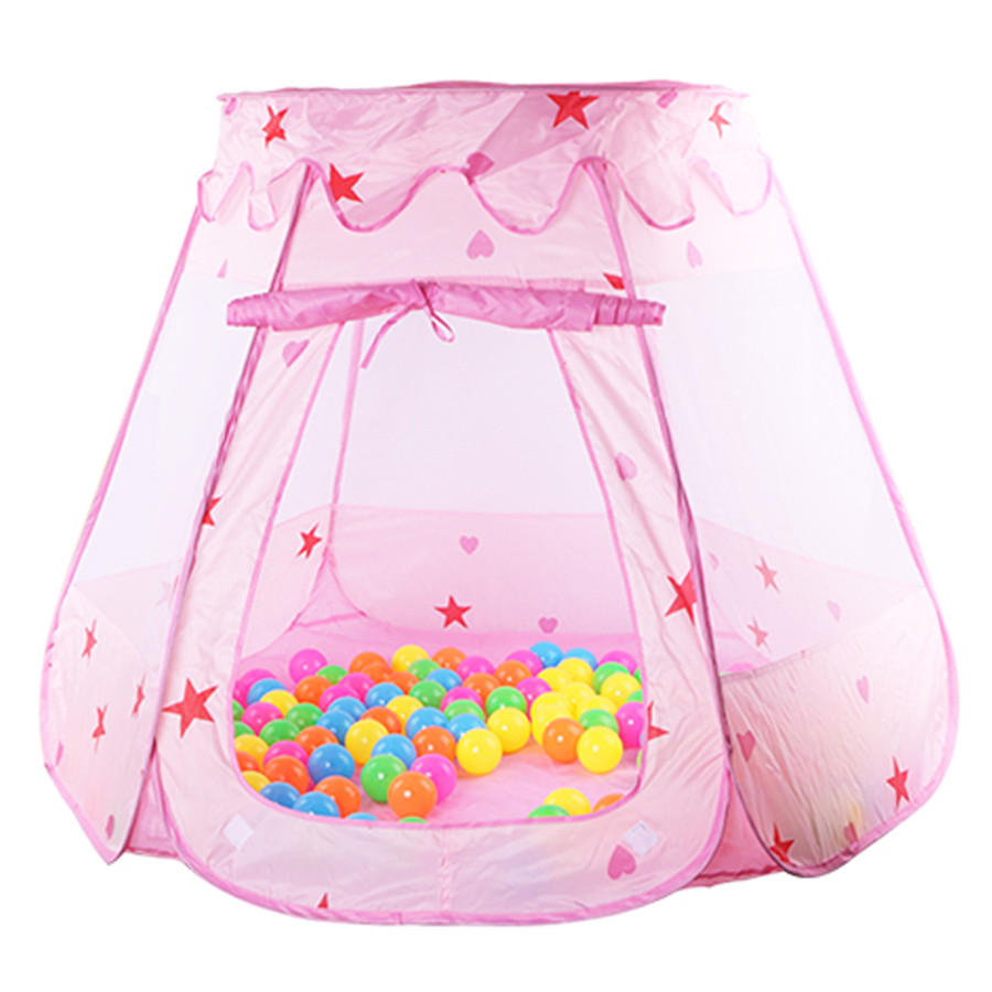 Large Princess Tent For Kids Cute Play House Baby Ocean