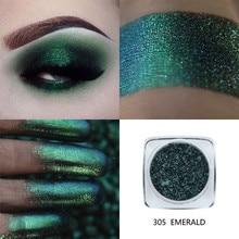 New Fashion Shimmer Eye Shadow PHOERA 1PC Eyeshadow Palette Metallic Eye Womens Cosmetic Makeup Eyeshadow Powder Dec12#35