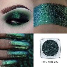 جديد أزياء لامع ظلال العيون PHOERA 1 قطعة ظلال العيون لوحة معدنية للنساء ماكياج التجميل ظلال العيون مسحوق Dec12 #35