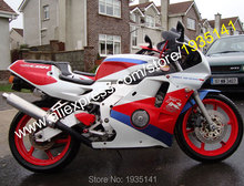 Hot Sales,For Honda CBR250RR 1990-1994 MC22 Parts CBR 250RR 90 91 92 93 94 Red Blue White Motorcycle Fairing (Injection molding)