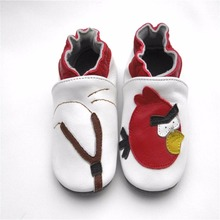 Spring and Summer soft soled Genuine Leather baby shoes